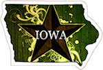 State of Iowa Magnets